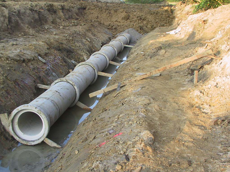 las tuberas de hormign y piezas de hormign de hormign en masa o armado son una solucin econmica y sostenible