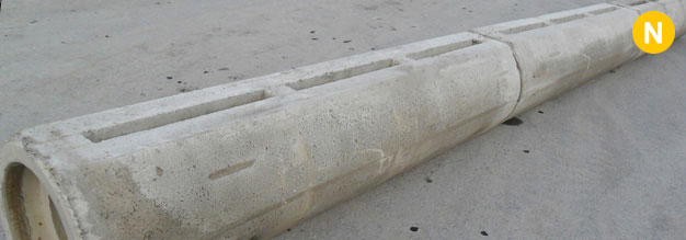 Reinforced concrete linear drainage channels