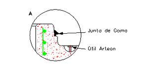 Circular bases Ø1,000 and Ø1,200 - B