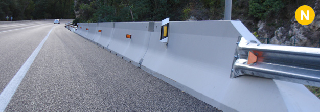 Containment systems - Concrete barriers with the CE marking