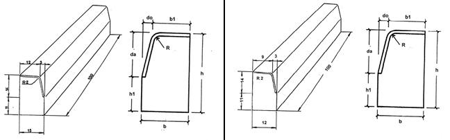 Bordillos de calzada - C5/C6