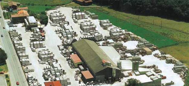 Vista general de la empresa - Prefabricados Alberdi